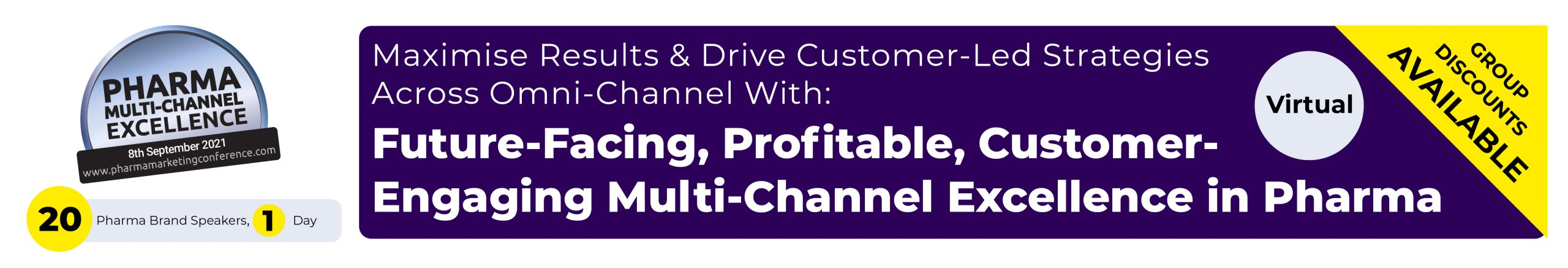 Multi-Channel Pharma Marketing Conference